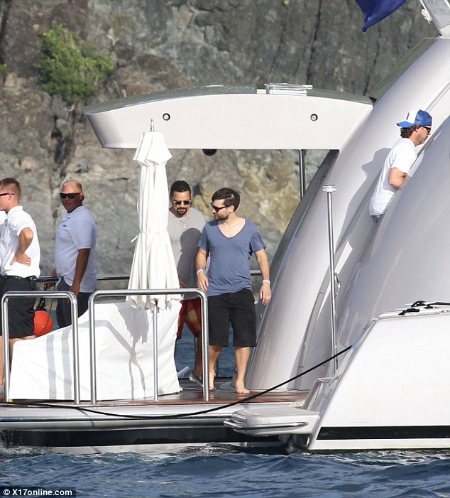 Tobey Maguire Joins His Friend Leo DiCaprio Aboard 65m