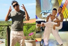 Photo of Somizi joins the Qwabe twins in serving dance moves