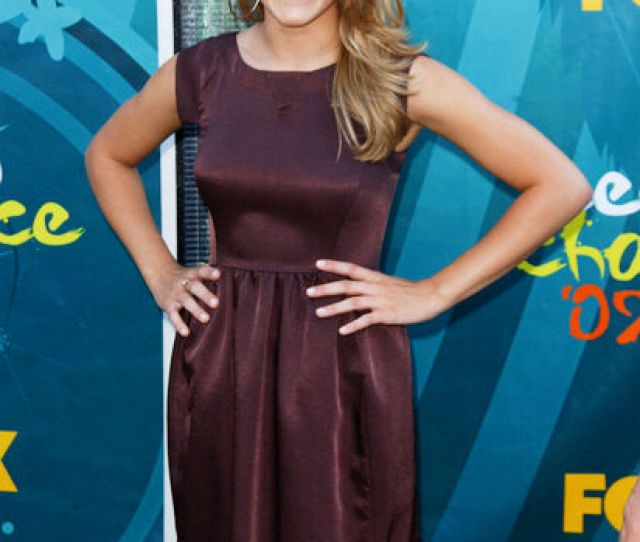 Actress Emily Osment Arrives On The Red Carpet At The  Teen Choice Awards Held At The Gibson Amphitheatre On August   In Universal City