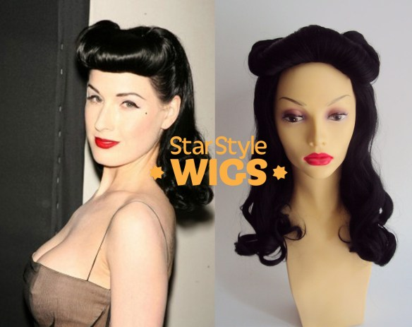 Black Pin Up Wig