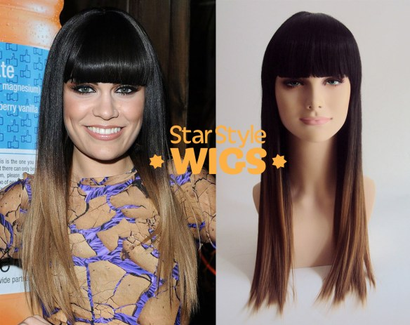 Jessie J Dip Dye Fashion Wig