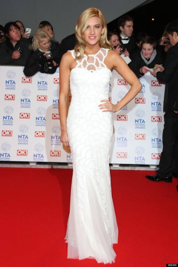 Ashley Roberts NTA 2013