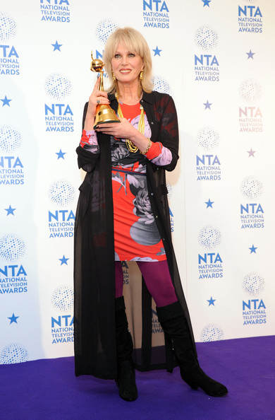Joanna Lumley NTA 2013