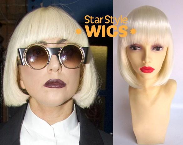 Lady Gaga Paparazzi Bob Wig