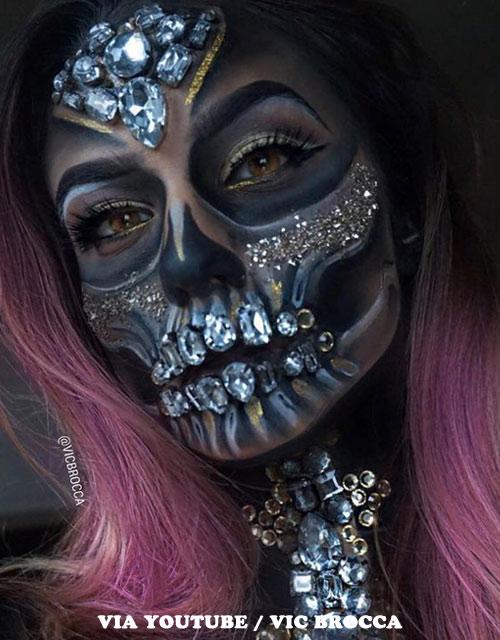 Sugar Skull Pink Wig