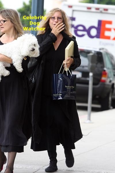Barbra Streisand Archives  Celebrity Dog Watcher