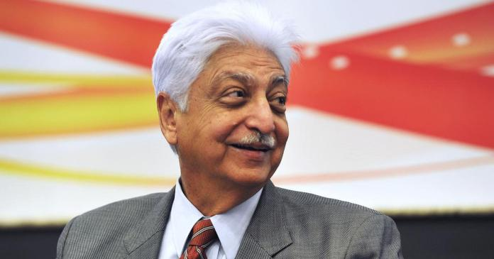 azim premji income
