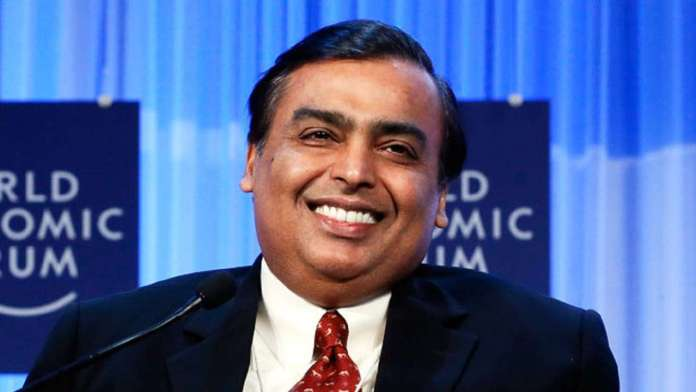 mukesh ambani income