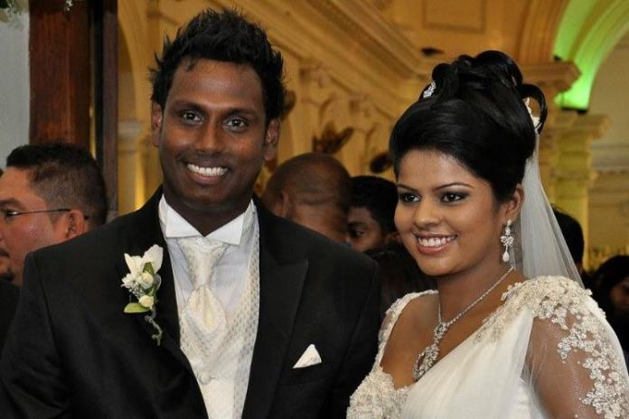 Angelo Mathews girlfriend