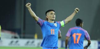 Sunil Chhetry Football