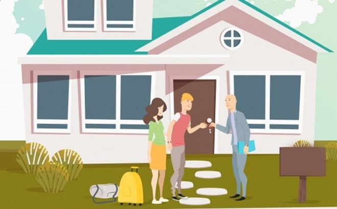 Renting house