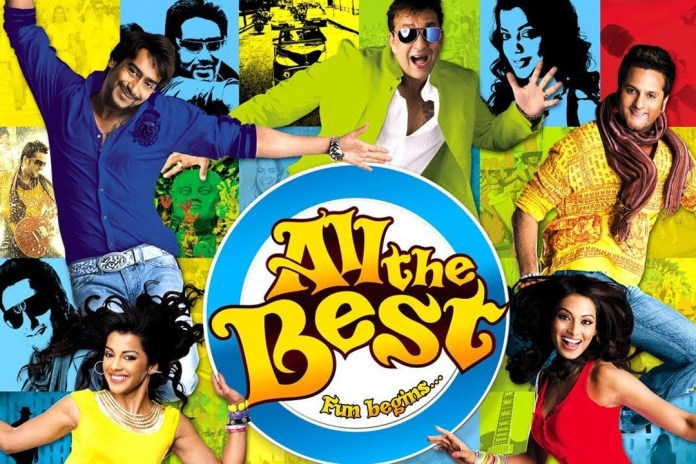 Poster of All The Best
