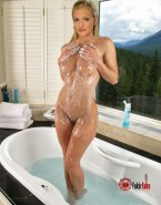 A J Cook Shower Wet Nsfw 001