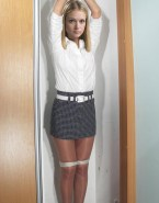 A J Cook Skirt Bondage Naked 001