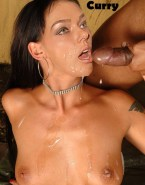 Adrianne Curry Facial Big Cumshot Naked Fake 001
