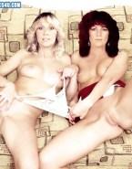 Frida Lyngstad & Agnetha Faltskog ABBA Porn Fake-022