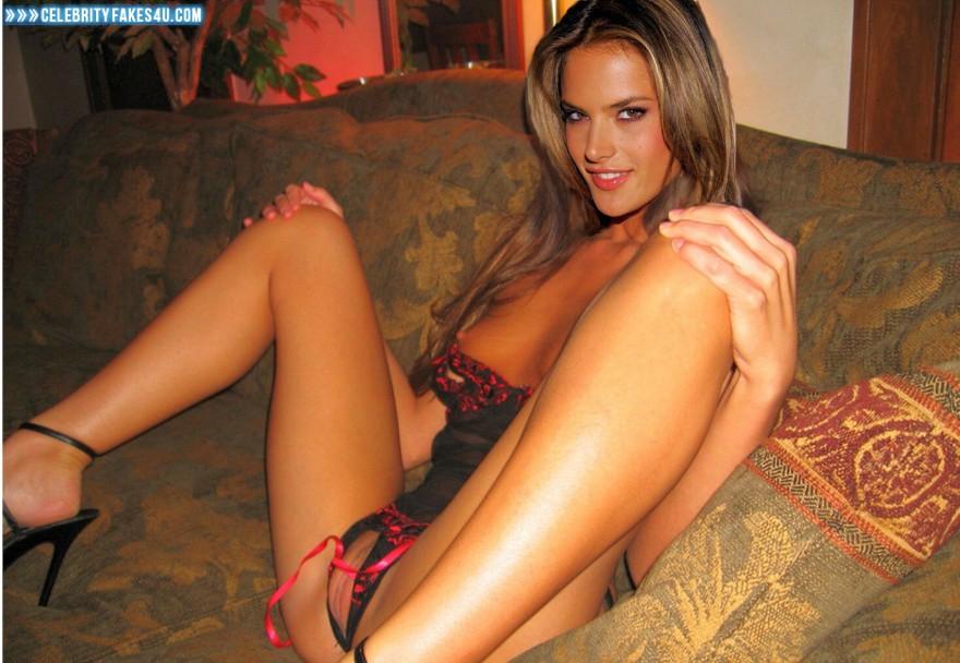 Opinion you Alessandra ambrosio nude nipple