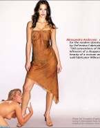 Alessandra Ambrosio See Thru Lesbian Fake 001
