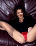 Alexa Davalos Vagina Legs Spread Panties Aside 001