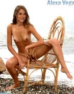 Alexa Vega Boobs Beach 001