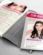 Alexandra Daddario Nudes Magazine Cover 001