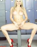 Alison Sweeney Nice Tits Spreading Fake