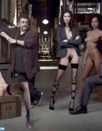 Allison Scagliotti Stockings Legs Spread Nsfw Fake 001