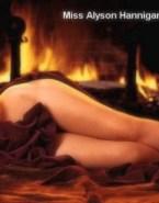 Alyson Hannigan Legs Breasts Nude 001