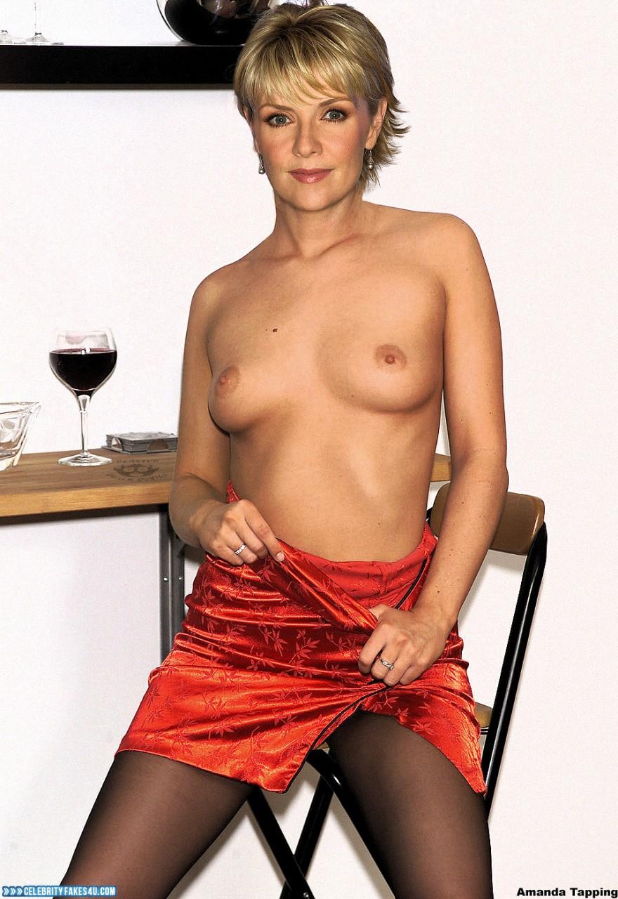 Amanda Tapping Boobs amanda tapping boobs exposed topless naked 001 « celebrity