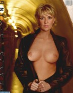 Amanda Tapping Exposing Breasts 001
