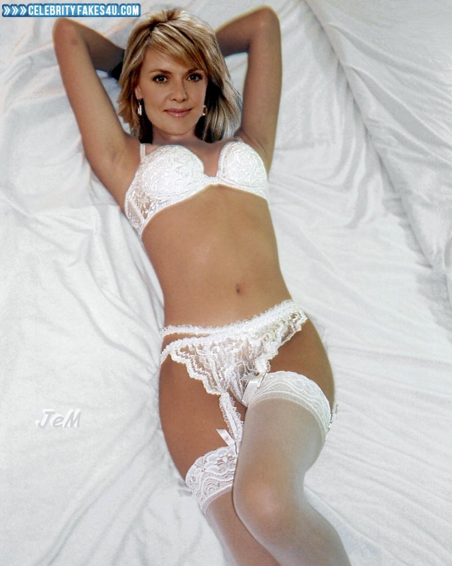 Amanda Tapping Naked amanda tapping lingerie stockings naked 001 « celebrity fakes 4u