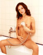 Amber Tamblyn Wet Shower Nude Fake 001