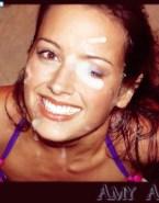 Amy Acker Cum Facial Fake-001