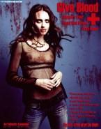 Amy Acker Naked Zombie Fake-001