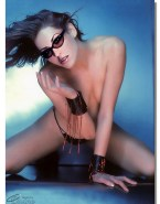Anastacia Glasses Nude Fake 001