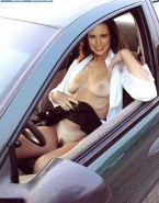 Andie MacDowell Naked in Public Car Fake