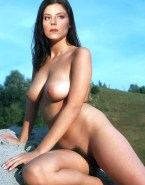 Andrea Parker Boobs Outdoor Fake 003