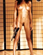 Andrea Parker Topless Fake 001