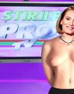 Andreea Esca Topless Public Naked Fake 001