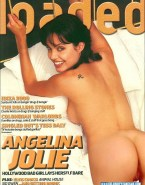 Angelina Jolie Ass Magazine Cover 001