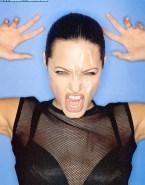 Angelina Jolie Facial Cumshot 003