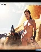 Angelina Jolie Great Tits 300 (film) Naked 001