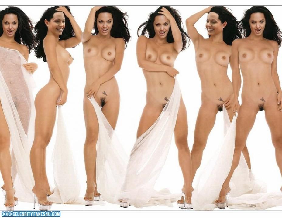 Angelina Jolie Fake, Legs, Nude, Tits, Porn