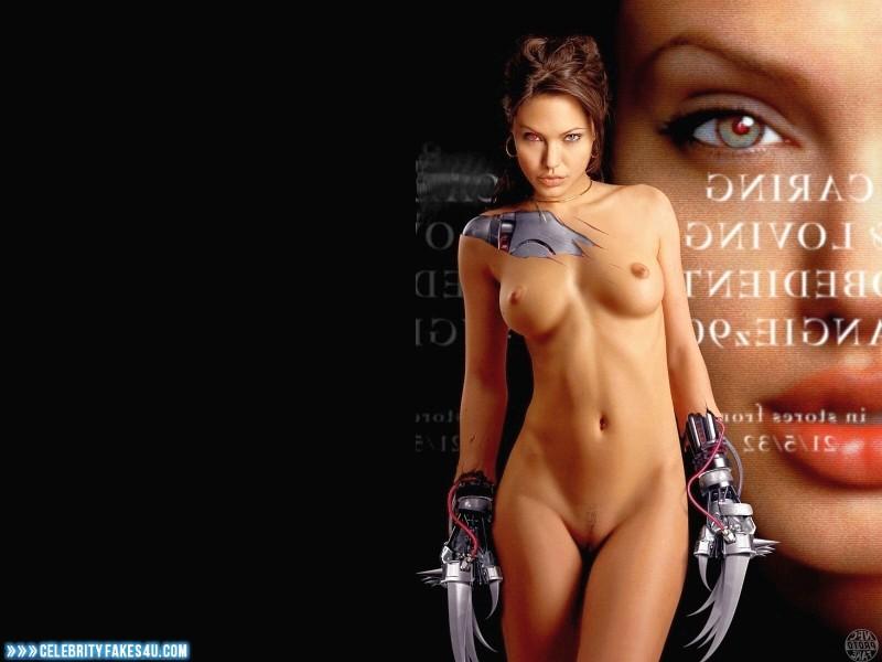 Angelina Jolie Fake, Naked Body, Nude, Tits, Porn