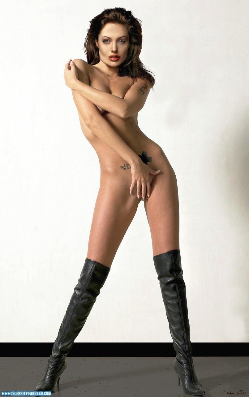 Jolie nude fakes angelina Angelina Jolie