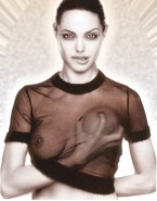 Angelina Jolie See Thru Boobs Squeezed 001