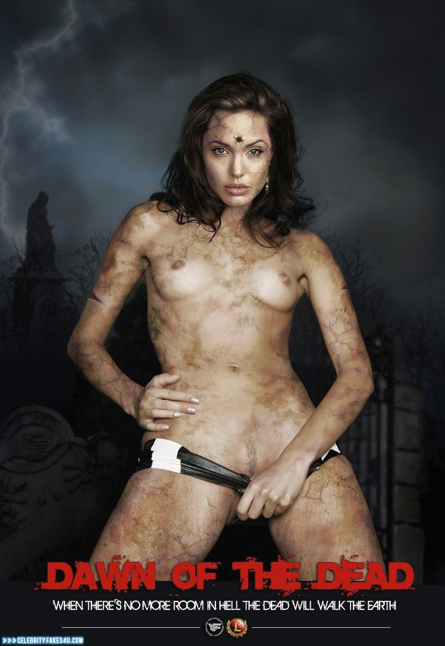 Angelina Jolie Fake, Movie Cover, Small Tits, Tits, Porn
