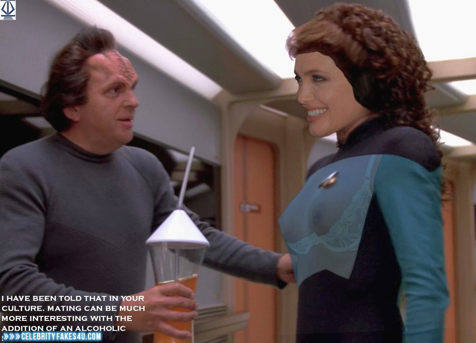 Angelina Jolie Star Trek See Thru 002 « Celebrity Fakes 4U