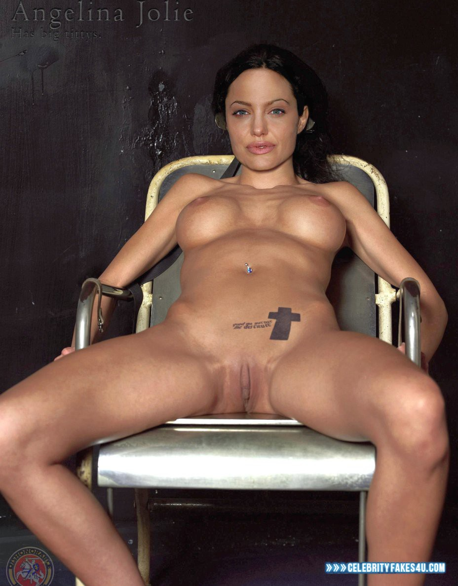 Young angelina jolie fake xxx nude image