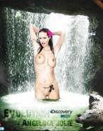 Angelina Jolie Wet Naked Body 002